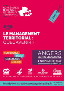 05283b36e1b La Conférence Régionale de l Emploi Territorial (CRET) est organisée tous  les 2 ans par les Centres de Gestion de la région Pays de la Loire.